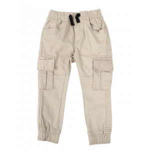 stretch cargo twill jogger pants (2t-4t)