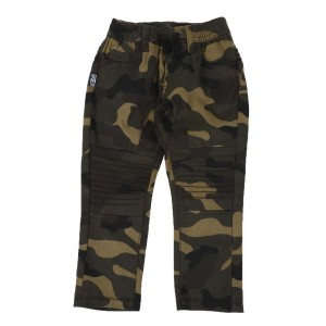 camo stretch moto jogger pants (2t-4t)