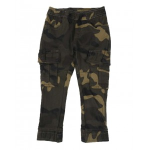 camo stretch twill jogger pants (2t-4t)