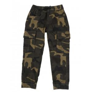 camo stretch twill jogger pants (4-7)