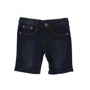 stretch washed denim short(2t-4t)