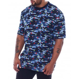 popsicle camo crew t-shirt (b&t)