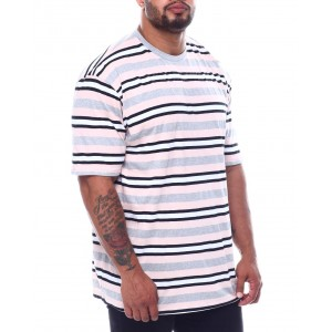 stripe crew t-shirt (b&t)
