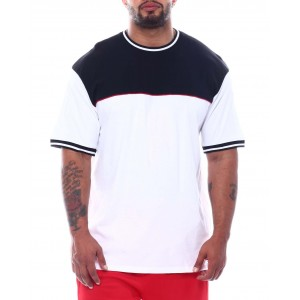 colorblock crew t-shirt (b&t)