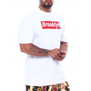 brooklyn chenille patch box tee (b&t)