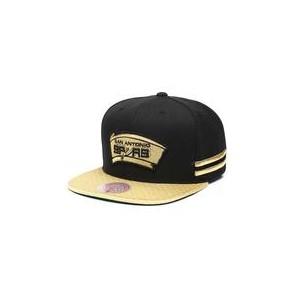 san antonio spurs gold snapback hat
