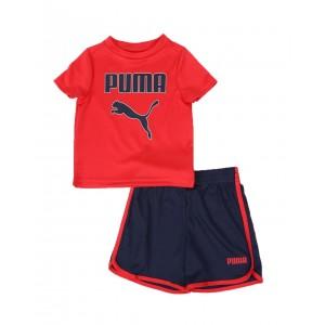 2 pc performance logo tee & shorts set (infant)