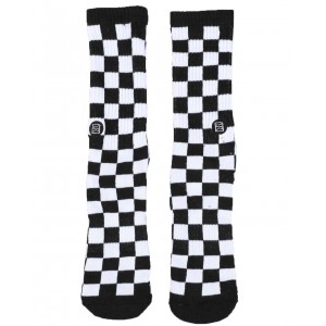 checkerboard socks