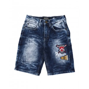 rip & repair patch work denim shorts (8-20)