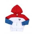 color block hoodie (2t-4t)