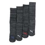 4pk mens 1/2 terry crew socks box set