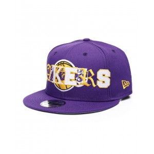 9fifty mixed b6 los angeles lakers snapback hat