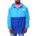 color block anorak jacket (b&t)