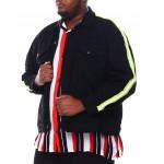 side stripe denim jacket (b&t)