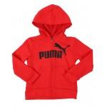 no. 1 logo pack fleece zip up hoodie (4-7)