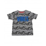 good vibes tiger aop tee (2t-4t)