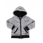 sherpa lined zip up hoodie (2t-4t)