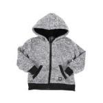 sherpa lined zip up hoodie (4-7)