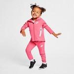 Girls Toddler Nike Sportswear Full-Zip Hoodie and Pants Tech Fleece Set