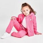 Girls Little Kids Nike Sportswear Tech Fleece Full-Zip Hoodie