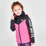 Girls Little Kids Nike 2Fer Puffer Jacket