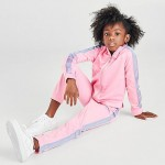 Girls Little Kids Nike Fade Tape Tricot Track Suit
