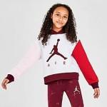 Girls Air Jordan Volo Colorblocked Fleece Pullover Hoodie