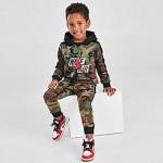 Boys Toddler Jordan Jumpman Classics Camo Pullover Hoodie and Jogger Pants Set