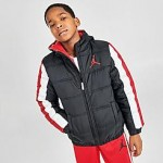 Boys Jordan Nylon Puffer Jacket