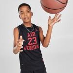 Kids Jordan Classic Mesh Basketball Jersey
