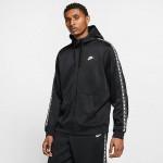 Mens Nike Sportswear Poly tape Full-Zip Hoodie