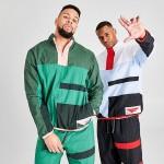 Mens Nike Flight Basketball Half-Zip Jacket