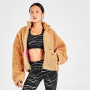 Womens Nike Sportswear Sherpa Fleece Full-Zip Jacket