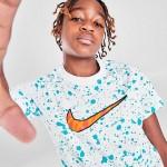 Boys Nike Sportswear Allover Splattered Print T-Shirt
