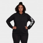 Womens adidas Essentials Full-Zip Hoodie (Plus Size)