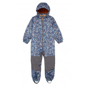 Snow Pile Waterproof Insulated One-Piece Snowsuit