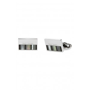 Stripe Cuff Links