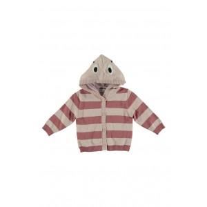 Vita Stripe Hooded Cardigan