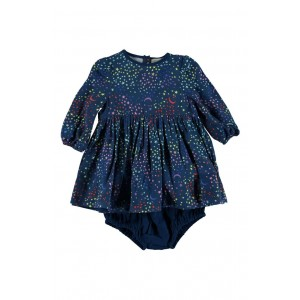 Fleur Star Print Dress