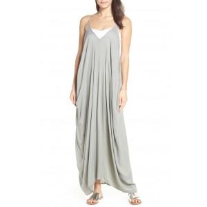 V-Back Cover-Up Maxi Dress