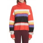 Chucky Stripe Turtleneck Sweater