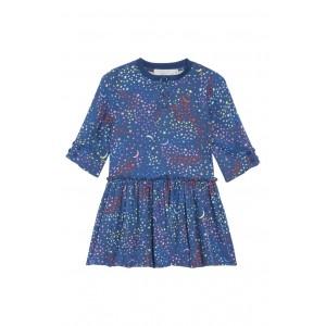 Stella McCartney Kiwi Star Print Dress