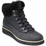GrandExplore Genuine Shearling Trim Waterproof Hiker Boot
