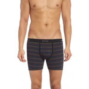 Long Leg Stretch Cotton Boxer Briefs