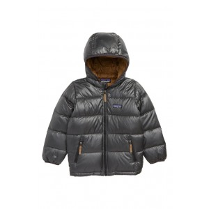 Reversible Water Resistant 600-Fill-Power Down Hooded Jacket