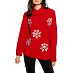 Christmas Glitter Snowflake Sweater