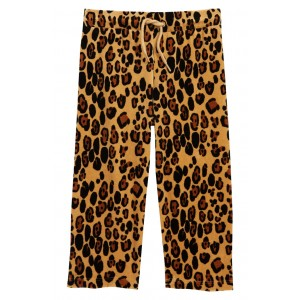Leopard Velour Sweatpants