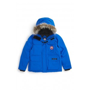 'PBI Expedition' Waterproof Down Parka with Genuine Coyote Fur Trim