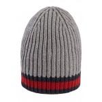 Stripe Wool Beanie