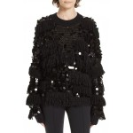 Alix Fringe & Paillette Sweater